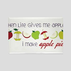 Apple Pie Rectangle Magnet
