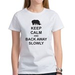 Keep Calm and Back Away Slowly Women's T-Shirt