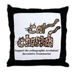 Ortho Revolution Cats Throw Pillow