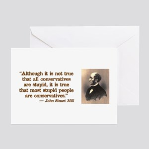 Anti left greeting cards cafepress stupid conservatives greeting cards pk of 10 m4hsunfo