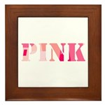 Pink Framed Tile