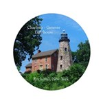 Charlotte Genesee Lighthouse Button