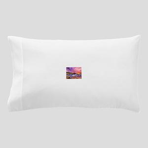 Manhattan Beach Pier Pillow Case