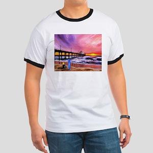 Manhattan Beach Pier Ringer T