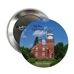 "Big Bay Lighthouse 2.25"" Button"