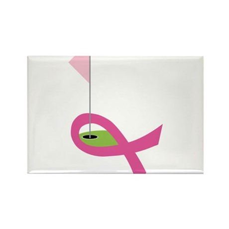 Golf For A Cure Rectangle Magnet