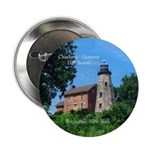 "Charlotte Genesee Lighthouse 2.25"" Button"