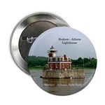 "Hudson Athens Lighthouse 2.25"" Button"
