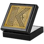 Celtic Letter K Keepsake Box