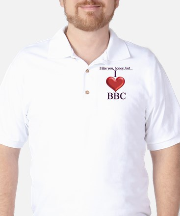 I Love BBC Golf Shirt