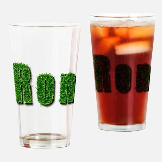 Ron Grass Drinking Glass