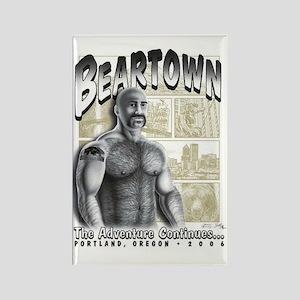 Beartown 11 Rectangle Magnet