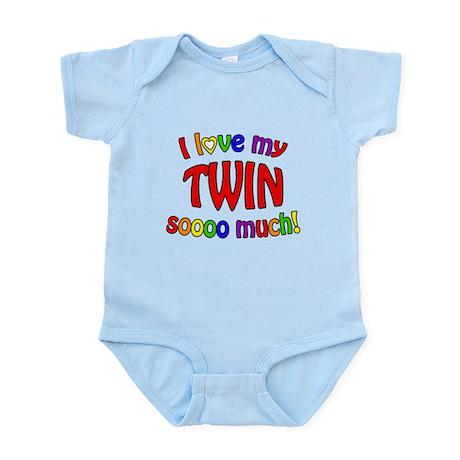 I love my TWIN soooo much! Infant Bodysuit