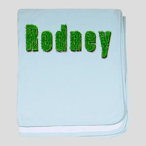 Rodney Grass baby blanket