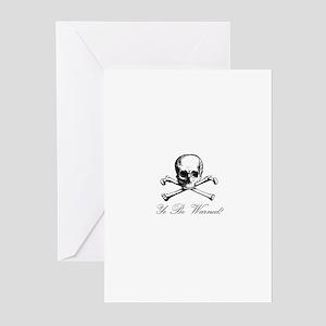 Warning Greeting Cards (Pk of 10)