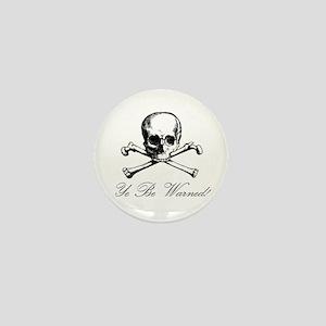 Warning Mini Button