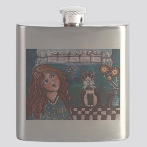 Love My Cat Flask