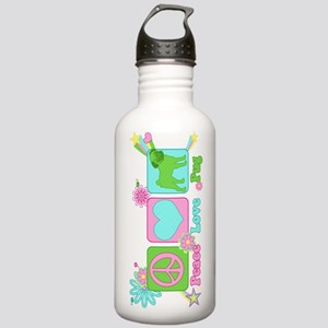 Peace Love Pug Stainless Water Bottle 1.0L