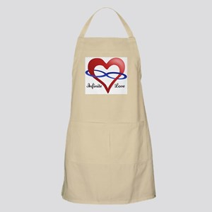 Infinite Love BBQ Apron