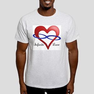 Infinite Love Ash Grey T-Shirt