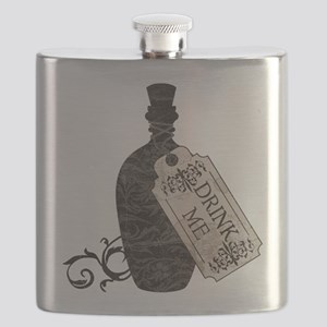 Drink Me Bottle Worn Flask