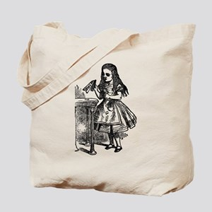 Vintage Alice Drink Me Tote Bag