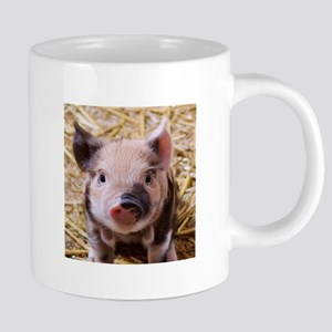 sweet little piglet 2 Mugs
