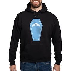 Cute Blue Coffin Hoodie (dark)