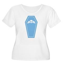 Cute Blue Coffin T-Shirt