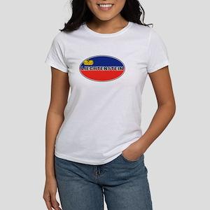 Liechtenstein Flag Women's T-Shirt