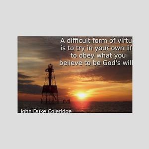 A Difficult Form of Virtue - John Duke Coleridge M