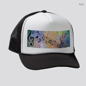 Abstract Music Kids Trucker hat
