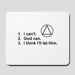 First Three Steps Mousepad