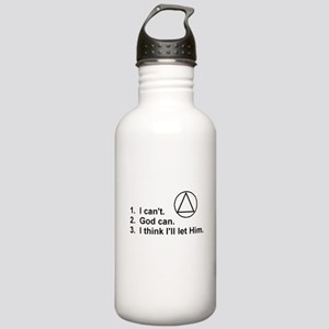 First Three Steps Stainless Water Bottle 1.0L