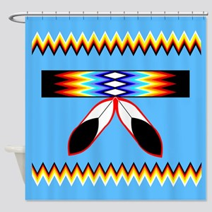 NATIVE PRIDE Shower Curtain