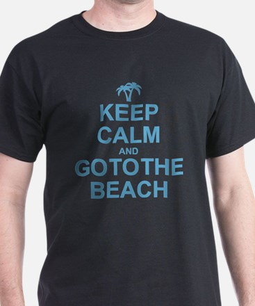 Keep Calm Go To The Beach T-Shirt