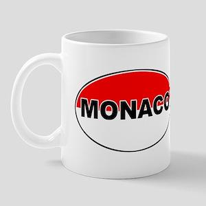 Monaco Oval Flag Mug