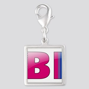 BI - Assume Nothing Silver Square Charm