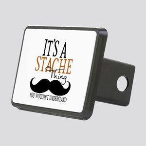 It's A Stache Thing Rectangular Hitch Cover