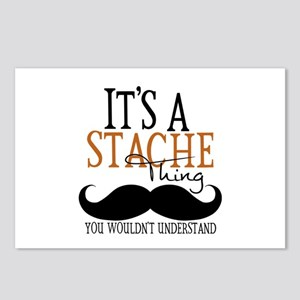 It's A Stache Thing Postcards (Package of 8)
