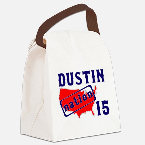 Dustin Nation 15 Canvas Lunch Bag