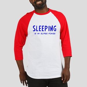 Super Power: Sleeping Baseball Jersey
