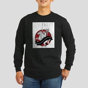 Winged Hussar Long Sleeve Dark T-Shirt