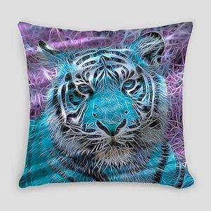 Crazy blue Tiger (C) Everyday Pillow
