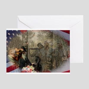 Vietnam Veterans' Memorial Greeting Card