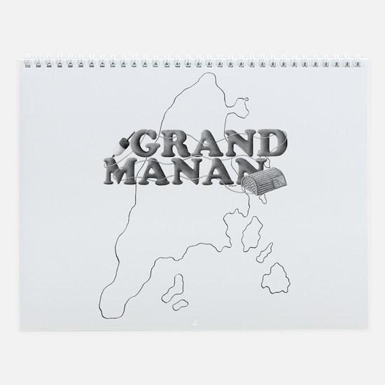 Grand Manan Wall Calendar