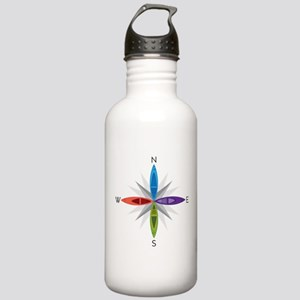 Directions Stainless Water Bottle 1.0L