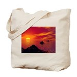 Volcanic Chain Tote Bag