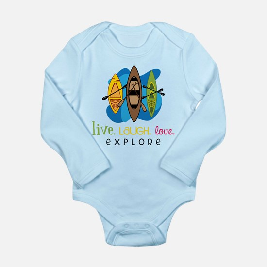 Explore Long Sleeve Infant Bodysuit