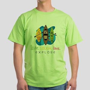 Explore Green T-Shirt